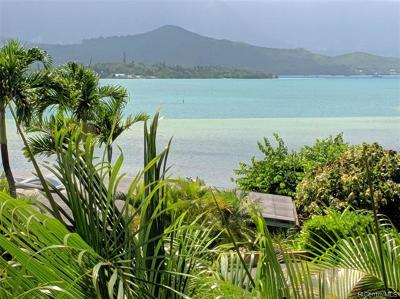 Kaneohe Single Family Home For Sale: 44-313b Kaneohe Bay Drive
