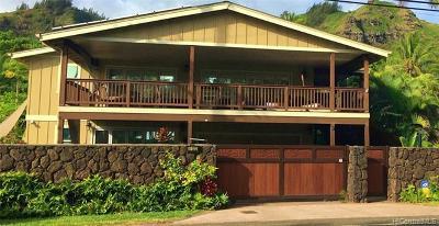 Laie Single Family Home For Sale: 55-022 Kamehameha Highway