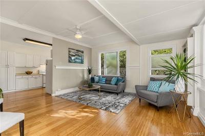 Honolulu Single Family Home For Sale: 3454 Campbell Avenue