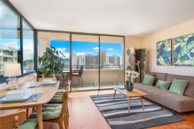 Honolulu Condo/Townhouse For Sale: 2410 Cleghorn Street #2902