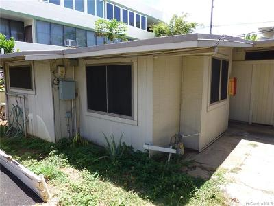 Central Oahu, Diamond Head, Ewa Plain, Hawaii Kai, Honolulu County, Kailua, Kaneohe, Leeward Coast, Makakilo, Metro Oahu, N. Kona, North Shore, Pearl City, Waipahu Rental For Rent: 2721 Kapiolani Boulevard #B
