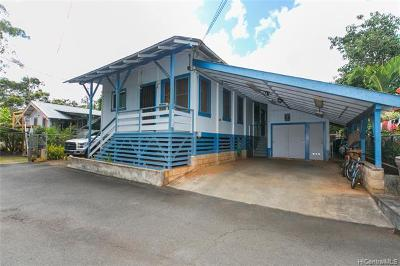 Wahiawa Single Family Home For Sale: 115 Cypress Avenue #D