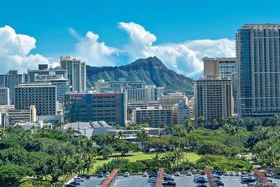 Honolulu Condo/Townhouse For Sale: 1860 Ala Moana Boulevard #1600
