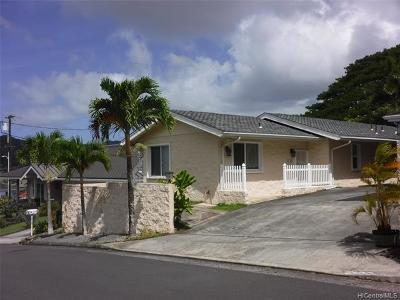 Central Oahu, Diamond Head, Ewa Plain, Hawaii Kai, Honolulu County, Kailua, Kaneohe, Leeward Coast, Makakilo, Metro Oahu, N. Kona, North Shore, Pearl City, Waipahu Rental For Rent: 45-614 Nohomalu Place