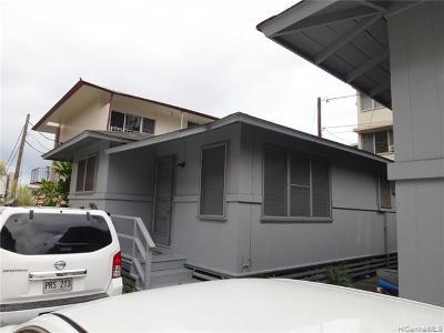 Honolulu Rental For Rent: 1133 Davenport Street #D