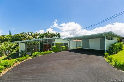 Honolulu Single Family Home For Sale: 4328 Halupa Street