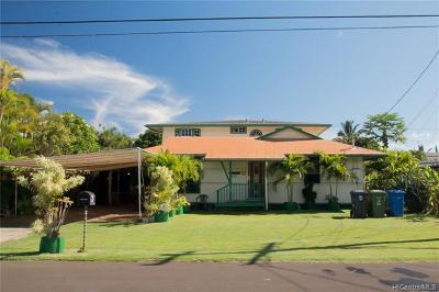 Waialua Single Family Home For Sale: 67-255 Kukea Circle