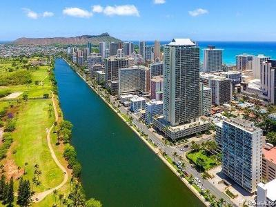 Honolulu Condo/Townhouse For Sale: 2233 Ala Wai Boulevard #16B