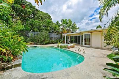 Kailua Single Family Home For Sale: 1145 Manulani Street