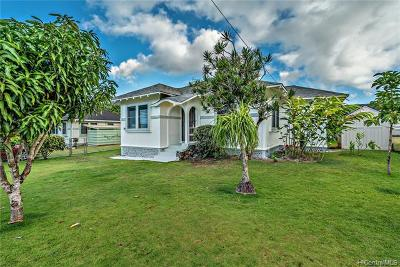 Wahiawa Single Family Home For Sale: 1250 Auwai Drive