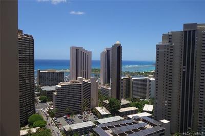 Honolulu Condo/Townhouse For Sale: 411 Hobron Lane #3102