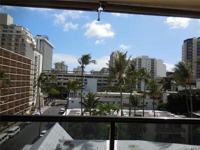 Honolulu Condo/Townhouse For Sale: 444 Nahua Street #707