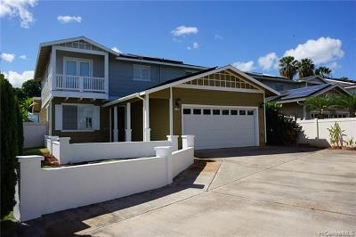 Ewa Beach Single Family Home For Sale: 91-1029 Kamaehu Street