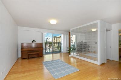 Honolulu Condo/Townhouse For Sale: 1610 Kanunu Street #508