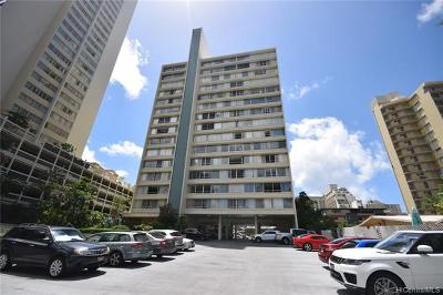 Honolulu Condo/Townhouse For Sale: 435 Seaside Avenue #603