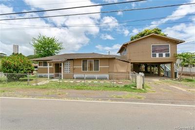 Single Family Home For Sale: 98-229 Hekaha Street