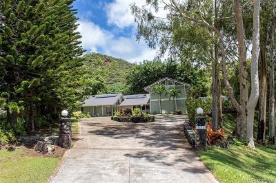 Kaneohe Single Family Home For Sale: 46-458 Holopeki Street