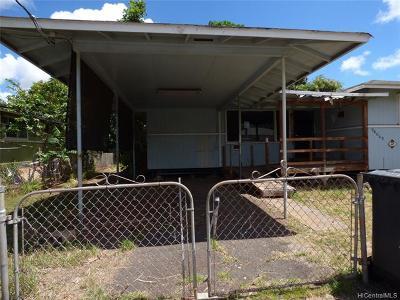 Honolulu County Single Family Home For Sale: 94-069 Awamoku Street