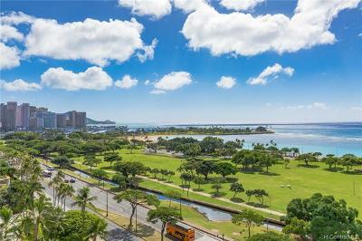 Honolulu Condo/Townhouse For Sale: 1288 Ala Moana Boulevard #11F