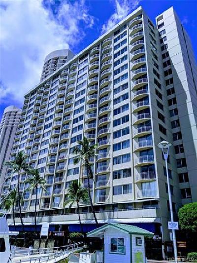 Honolulu County Condo/Townhouse For Sale: 1765 Ala Moana Boulevard #1292