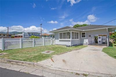 Honolulu Single Family Home For Sale: 793 Punahou Street