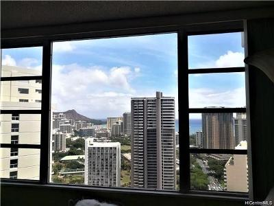 Honolulu Condo/Townhouse For Sale: 400 Hobron Lane #3509