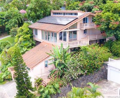 Single Family Home For Sale: 989 Pukoo Place