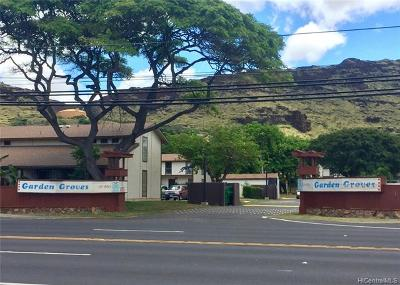Waianae Condo/Townhouse For Sale: 87-1550 Farrington Highway #D3