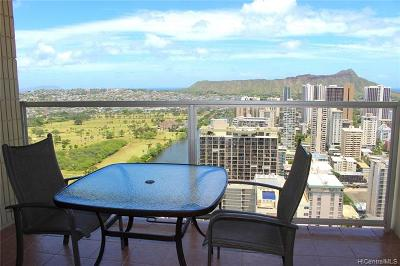 Honolulu Condo/Townhouse For Sale: 445 Seaside Avenue #4217