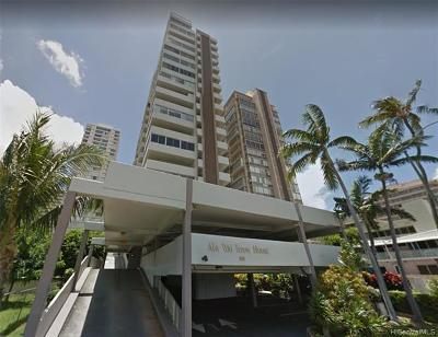 Honolulu Condo/Townhouse For Sale: 2421 Ala Wai Boulevard #1703