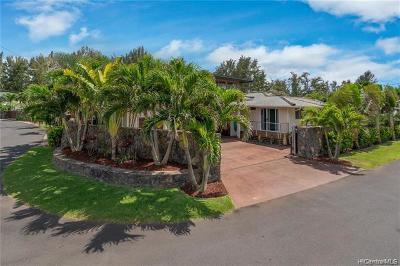 Haleiwa Single Family Home For Sale: 66-456 Pikai Street