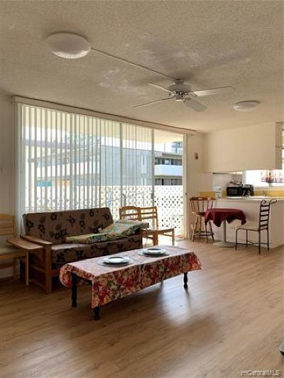 Honolulu Condo/Townhouse For Sale: 2355 Ala Wai Boulevard #908