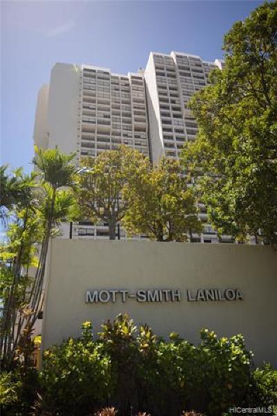 Honolulu Condo/Townhouse For Sale: 1717 Mott Smith Drive #1613