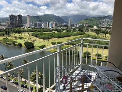 Honolulu Condo/Townhouse For Sale: 2415 Ala Wai Boulevard #1701