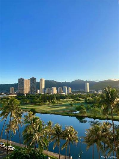 Honolulu Condo/Townhouse For Sale: 2355 Ala Wai Boulevard #901