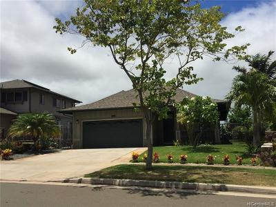 Honolulu County Single Family Home For Sale: 92-2006 Kulihi Street