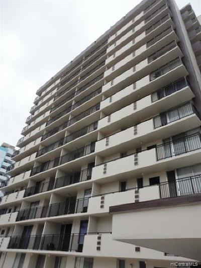 Honolulu Rental For Rent: 1610 Kanunu Street #1602