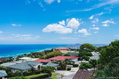 Honolulu Single Family Home For Sale: 1219 Ikena Circle