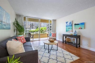 Honolulu Condo/Townhouse For Sale: 2533 Ala Wai Boulevard #401
