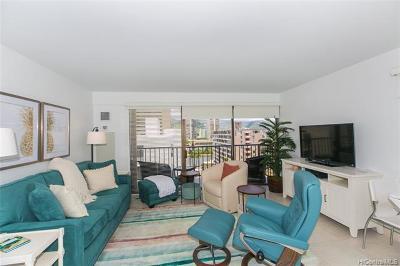 Honolulu Condo/Townhouse For Sale: 2140 Kuhio Avenue #1101
