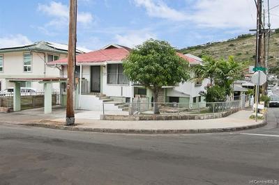 Honolulu Single Family Home For Sale: 1750 9th Avenue