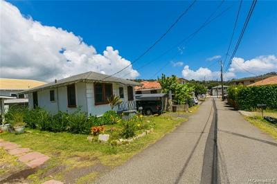 PALOLO Single Family Home For Sale: 1526d Palolo Avenue