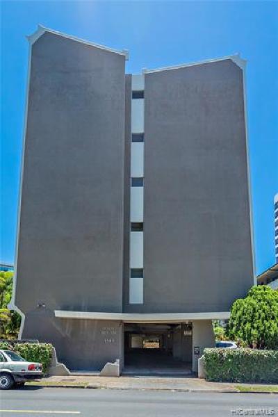 Honolulu Condo/Townhouse For Sale: 1543 Makiki Street #407
