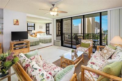 Honolulu Condo/Townhouse For Sale: 201 Ohua Avenue #Mauka 91