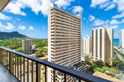 Honolulu Condo/Townhouse For Sale: 229 Paoakalani Avenue #1704