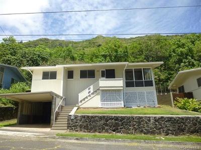 Aina Haina Single Family Home For Sale: 1157 Mona Street