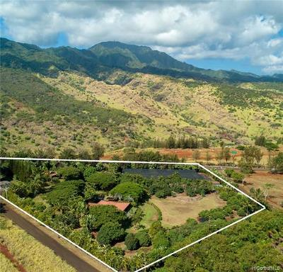 Honolulu County Residential Lots & Land For Sale: 65-1140 Poamoho Street