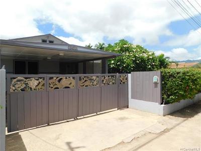 Waianae Single Family Home For Sale: 87-152 Liopolo Street