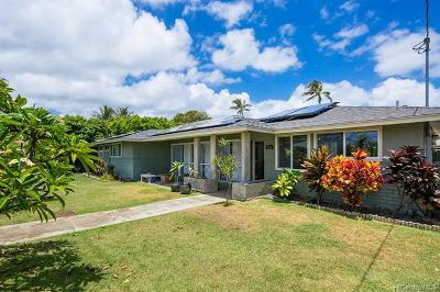 Kailua Single Family Home For Sale: 170 Mookua Street