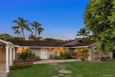 Kailua Single Family Home For Sale: 234 Kuupua Street